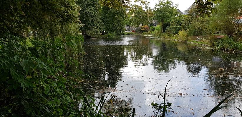Waterpartij wijk Molenbeke Arnhem