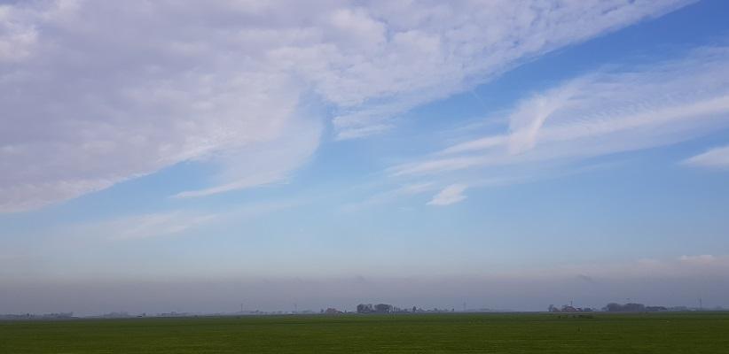 Wandeling over het Elfstedenpad van Witmarsum naar Allingawier