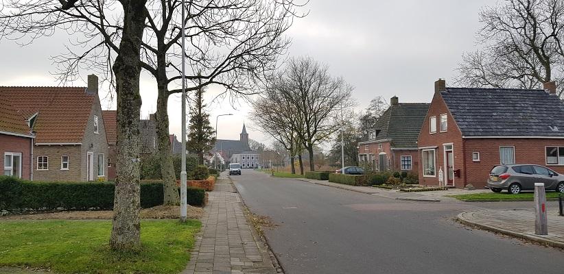 Wandeling over het Friese Woudenpad van Lauwersoog naar Ezumazijl in Anjum