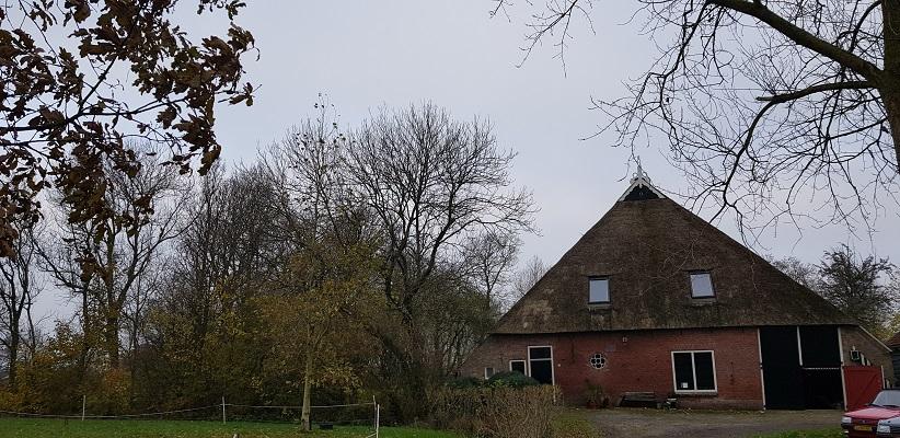 Wandeling over het Friese Woudenpad van Lauwersoog naar Ezumazijl