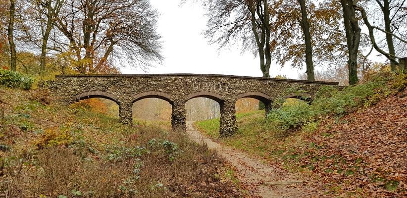 Wandeling over Klompenpad het Dorenweertsepad bij de Dunobrug
