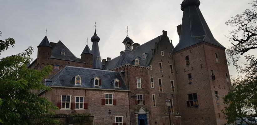 Wandeling over Klompenpad het Dorenweertsepad bij kasteel Doorwerth