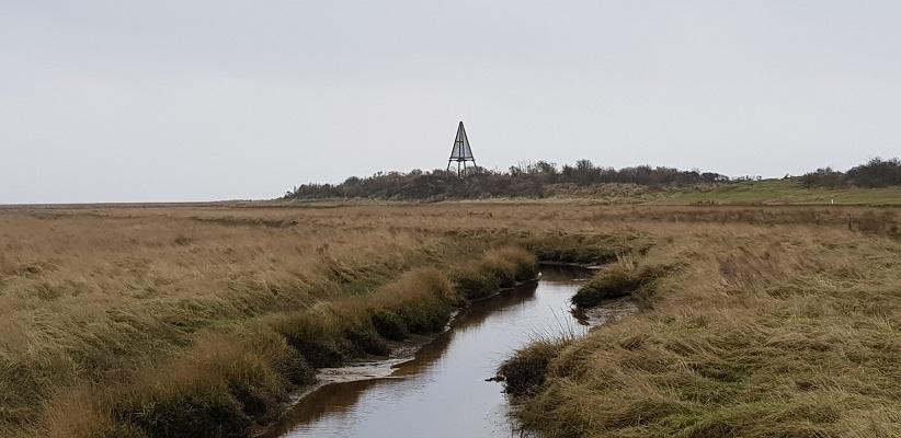 Wandeling naar het Willemsduin op het Schiermonnikoog bij het bKWN