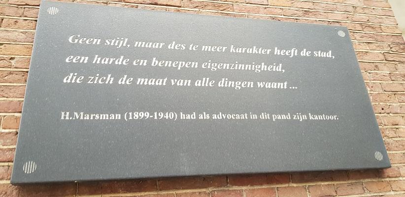Wandeling in Utrecht uit gids Utrecht acht keer anders van Gegarandeerd Onregelmatig langs markante teksten