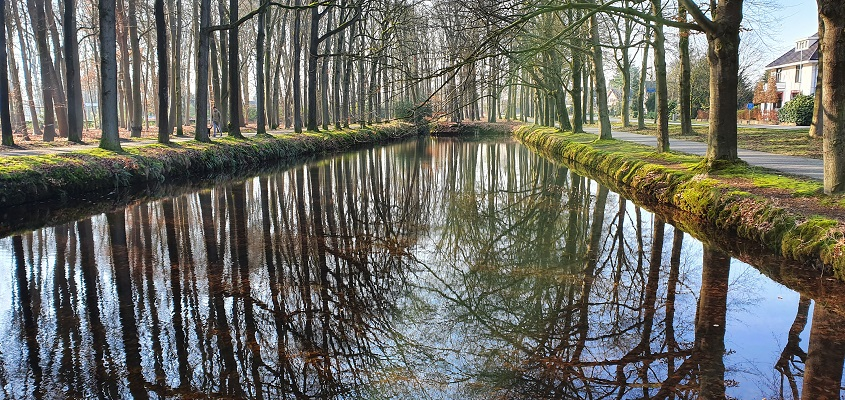 Wandeling over Trage Tocht Loenen bij kasteel Horst