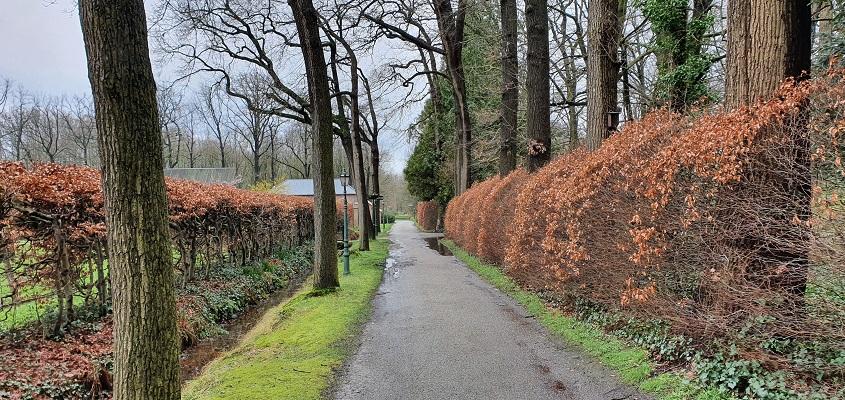 Literaire wandeling langs markante punten van A. van der Heijden in Geldrop in het kasteelpark