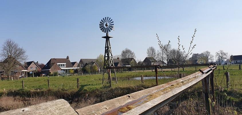 Wandeling Graancirkel in Oploo bij waterpark