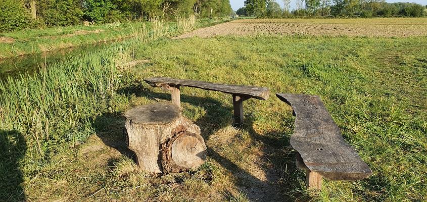 Wandeling over het Broeksteenpad in Rijkevoort bij de Lage Raam