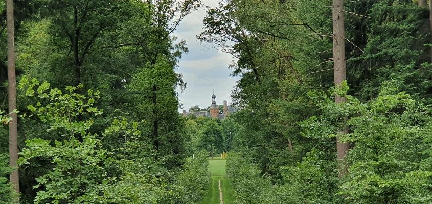 Landgoedwandeling over het Keppelpad bij de Vrange Bult met zicht op kasteel Keppel