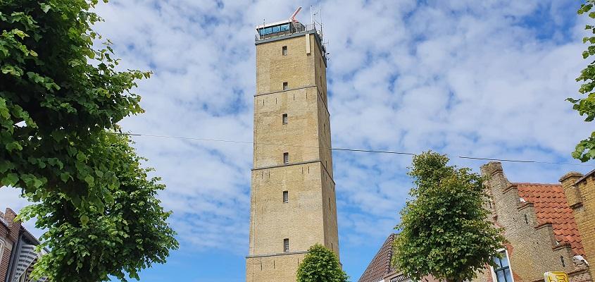 Wandeling op Terschelling van West naar Hoorn bij de Brandaris