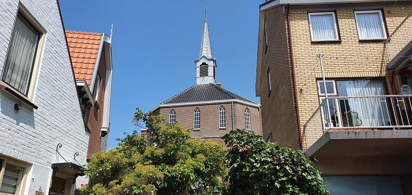 Wandeling op Urk bij de Bethelkerk