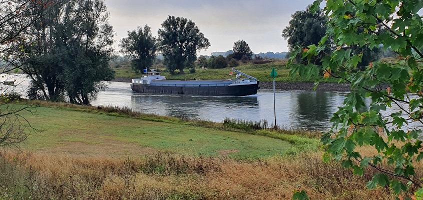 Wandeling over Trage Tocht De Steeg langs de IJssel