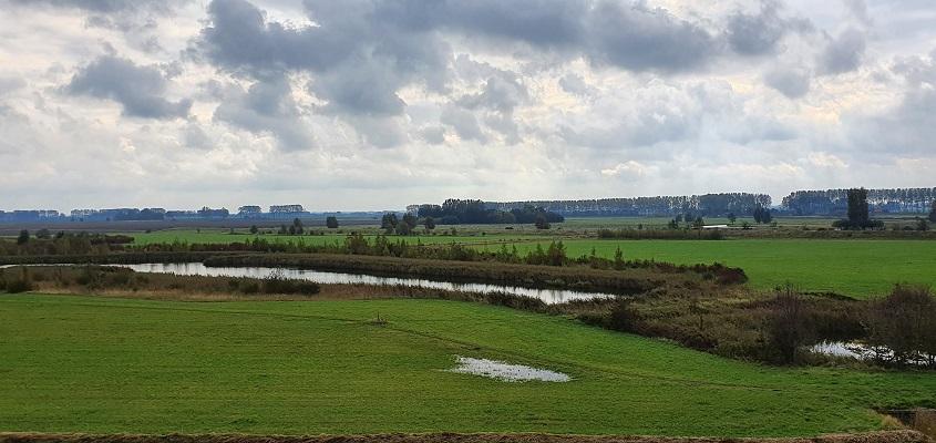 Wandeling over het Grenslandpad van Kloosterzande naar Terneuzen bij de Margarethapolder