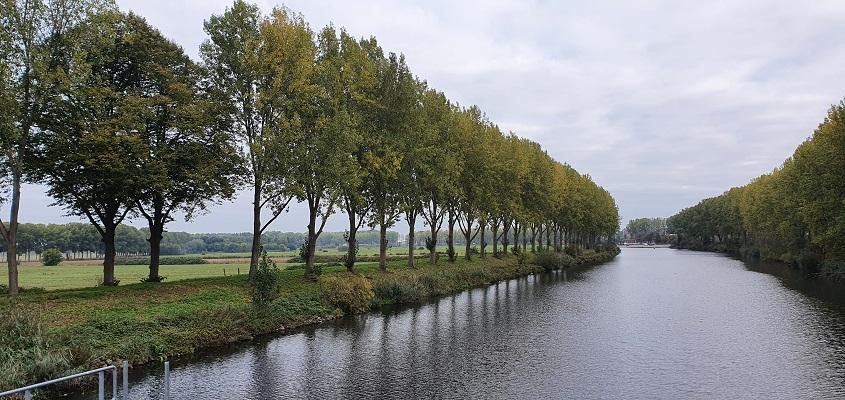 Wandeling in de omgeving van Den Bosch, Haverleij en Engelermeer, bij de Henriëttepolder