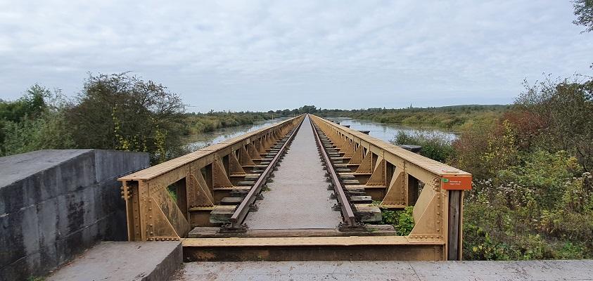 Wandeling in de omgeving van Den Bosch, Haverleij en Engelermeer, bij de Moerputtenbrug