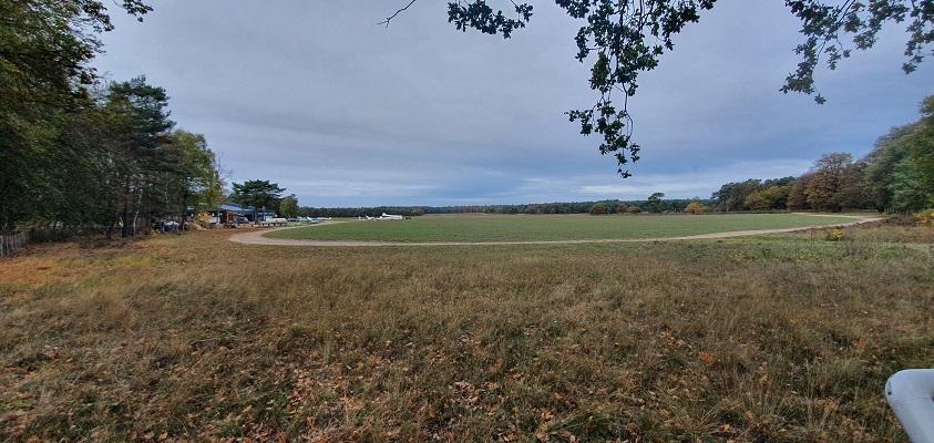 Wandeling over Geopad Mulderskop-Hooge-Hoenderberg bij zweefvliegveld Malden