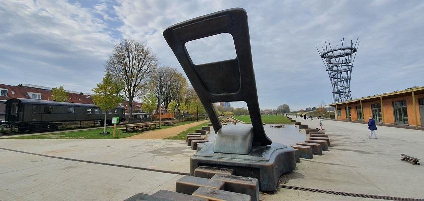 Stadswandeling Tilburg bij De Rits in het Spoorpark