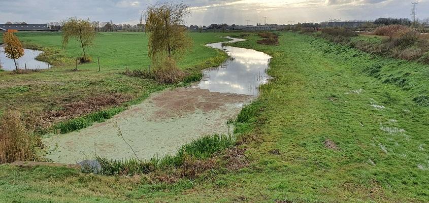 Wandeling meanderen langs de Aa in de omgeving van den Bosch bij de Rosmalense Aa