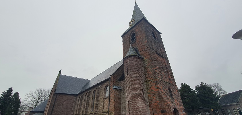Wandeling over ommetje Sint Hubert bij de Barbarakerk
