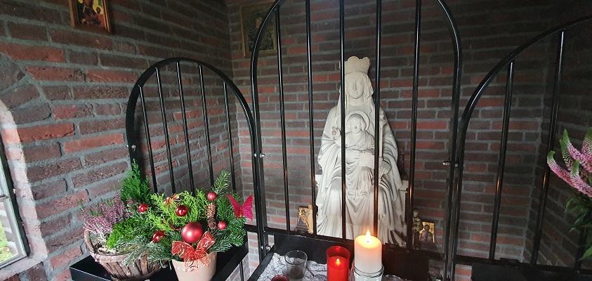 Wandeling over ommetje Sint Hubert bij de Barbarakapelv