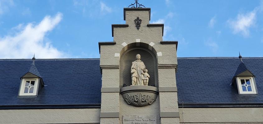 Historische wandeling Oss bij het Instituut H. Nicolaas van Poppel in Oss