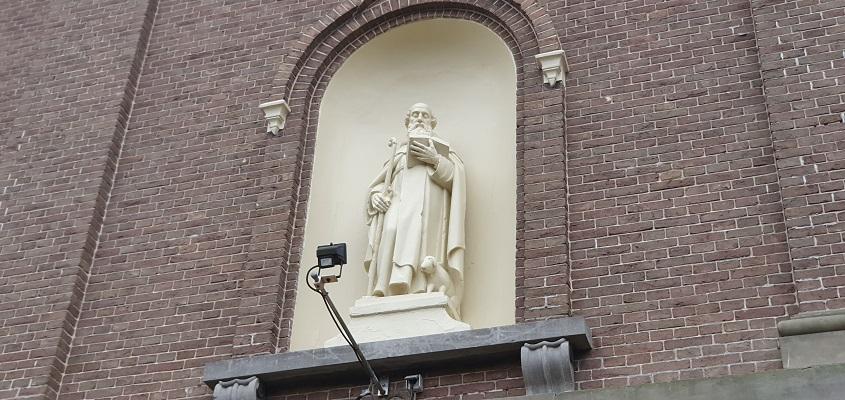 Historische wandeling Wijchen bij de Sint Antoniuskerk