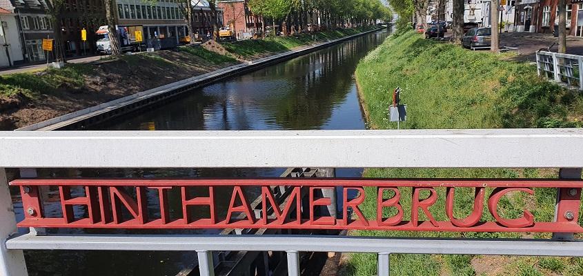 Wandeling over Trage Tocht Den Bosch bij de Hinthamerbrug