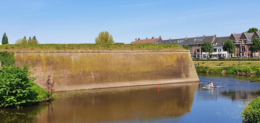 Wandeling over Trage Tocht Den Bosch bij de Citadel