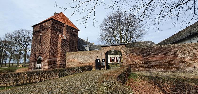 Wandeling over Trage Tocht Mill bij kasteel Tongelaar