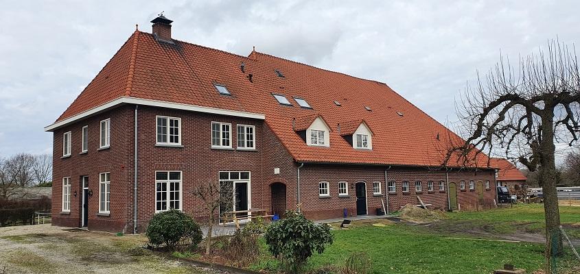 Wandeling over Trage Tocht Mill bij buurtschap Bruggen
