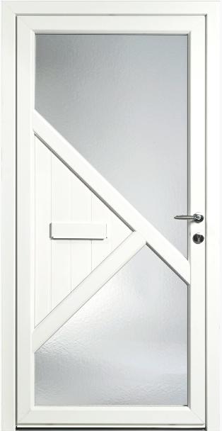 AMC Fenêtres : Porte PVC HEVEA