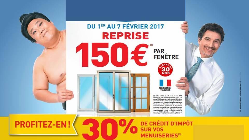Reprise 150 € de votre fenêtre