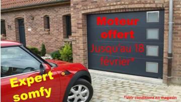 Porte de garage Saint Quentin : moteur offert
