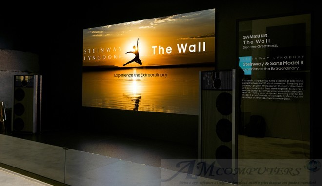 Samsung lancia The Wall Professional display MicroLED con HDR10