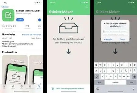Sticker Maker Studio per Creare adesivi su WhatsApp e Telegram
