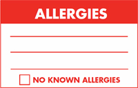 New Product Spotlight: Allergy Warning Labels