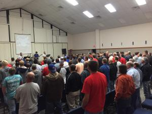 Men Retreat Worship 2