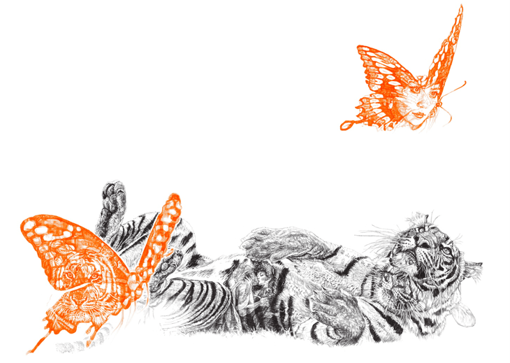 Butterfly Lover Print