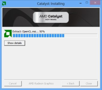 install driver catalyst2