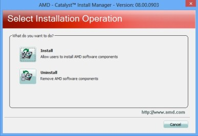 install driver catalyst4