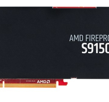 AMD FirePro S9150 side view