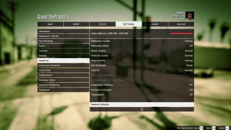 GTA V Full HD ASUS N551ZU