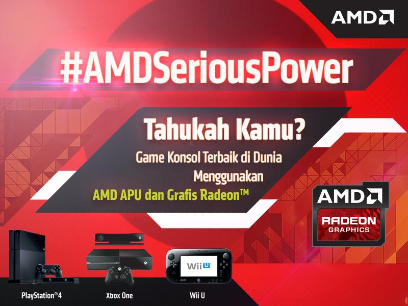 Konsol terbaik dunia gunakan APU & Grafis Radeon