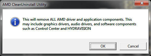 Uninstall AMD Radeon Crimson