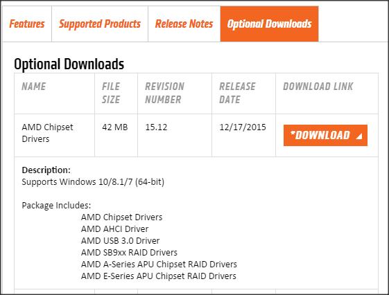 AMD Chipset Driver