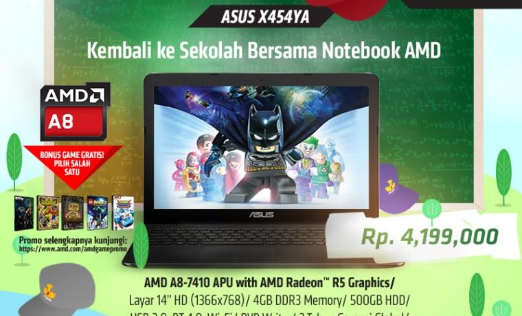Asus X454YA & Asus X555YA E1