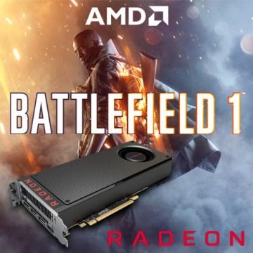 Bonus Battlefield 1 untuk pembelian Radeon RX
