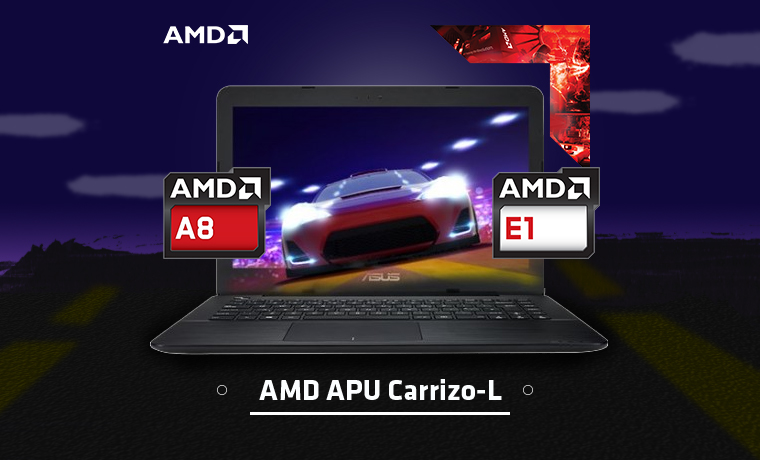 Laptop AMD Carrizo L
