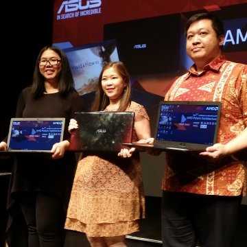 Launching Asus X550IU Media