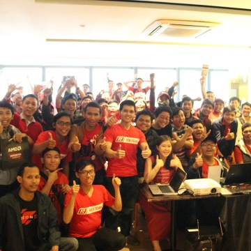 AMD Notebook For Gaming Gathering Jakarta